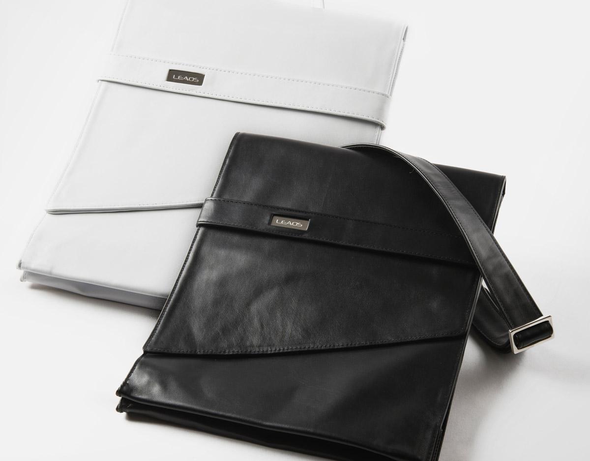 Agenzia di design borsa in pelle
