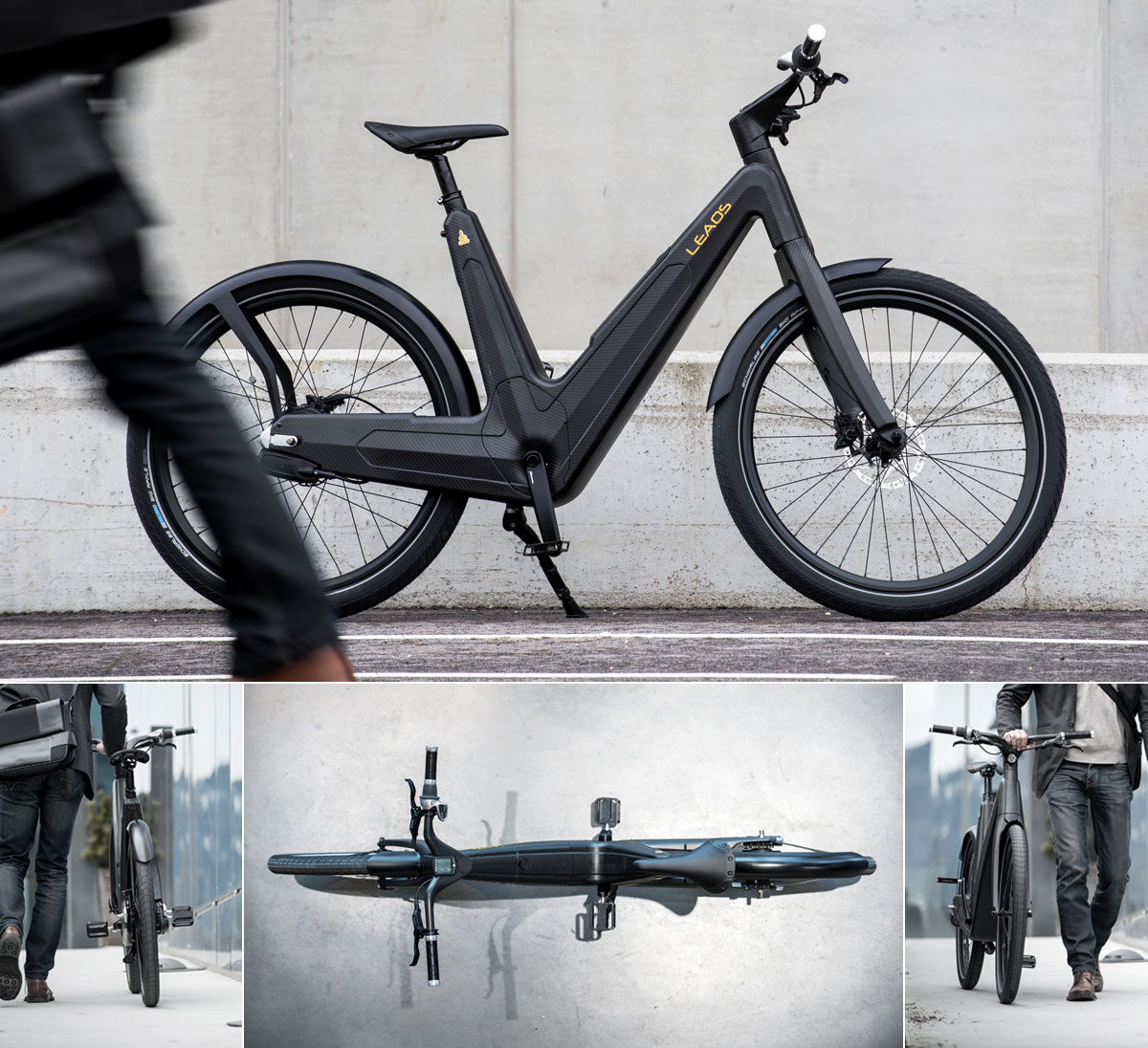 invention electric bicycle design