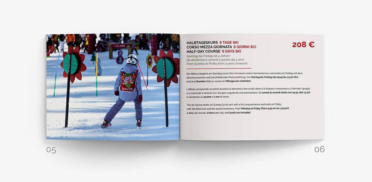 brochure ski schule Ladurns